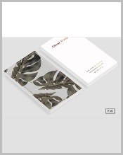 bronze-metal-business-card-template