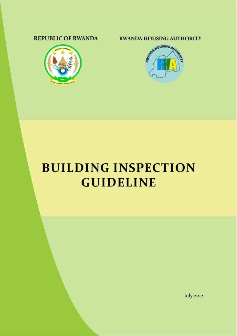 Building Inspection Guideline