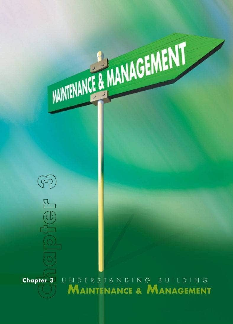 Building Maintenance Management Report