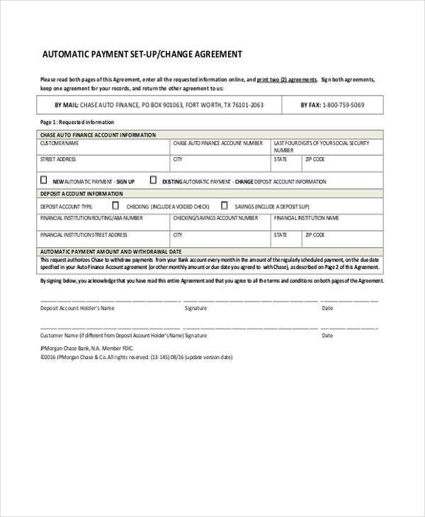 How To Make A Car Loan Agreement Form Free Premium Templates