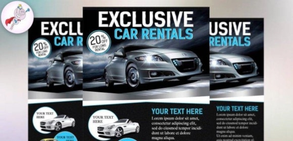 18 Car Rental Flyer Designs Templates Psd Ai Word Eps Free