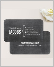 chalkboard-business-card-template