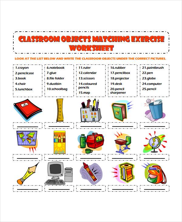 Classroom Exercise Worksheet