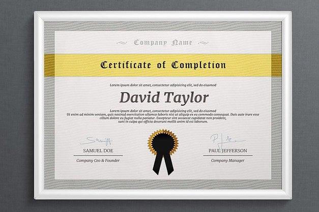 10 college diploma certificate designs templates psd ai free college diploma certificate yadclub Images