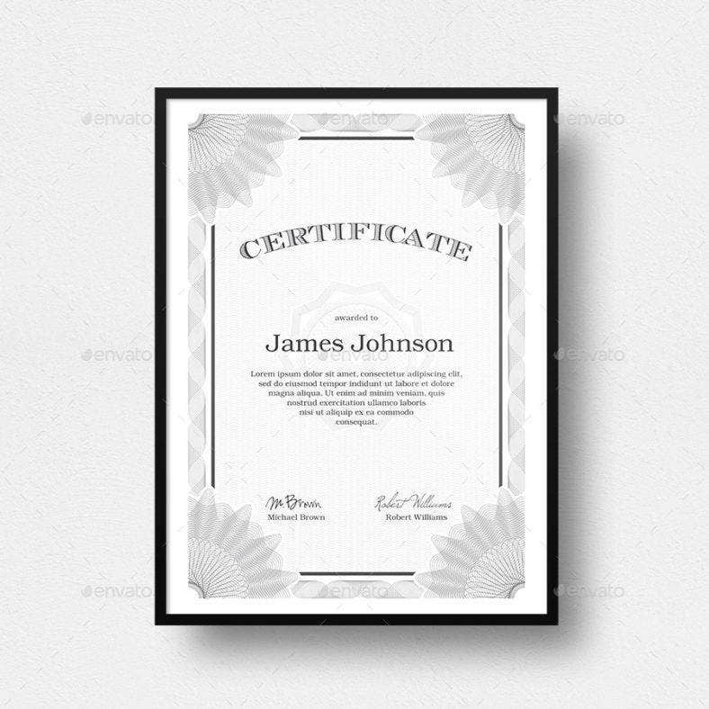 college sample certificate 788x788