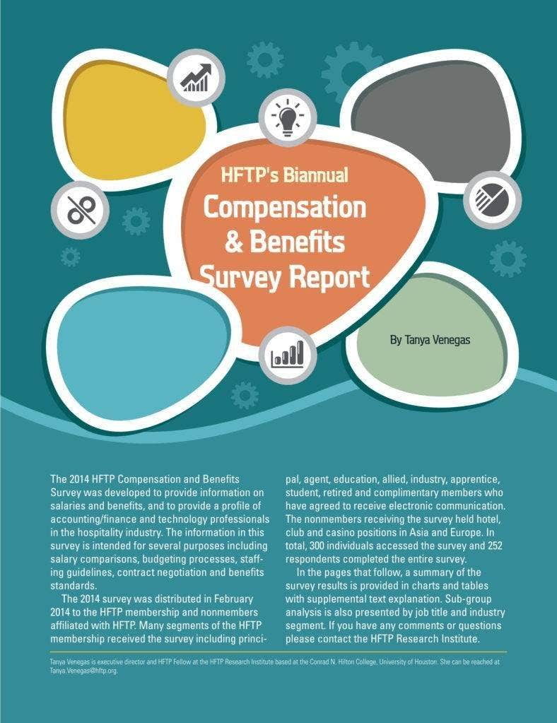 compensation and benefits report