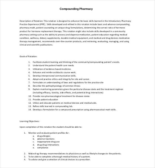 compounding pharmacy marketing plan