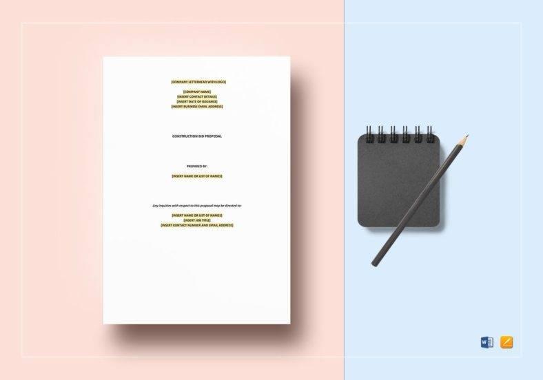 construction-bid-proposal-template