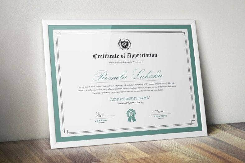 Corporate & Modern Certificate Template
