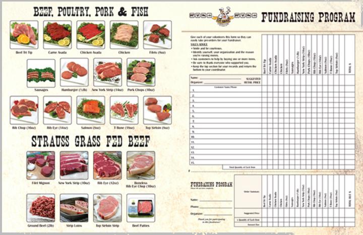14 Restaurant Fundraising Card Templates Free Premium Templates