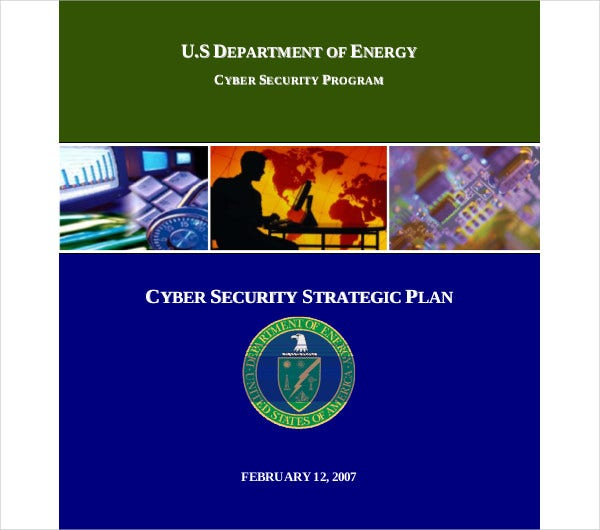 cyber security strategic plan
