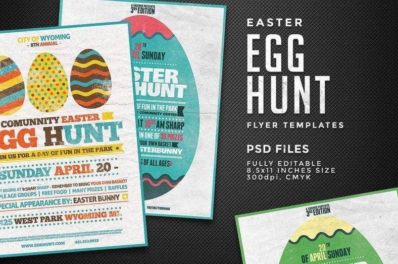Easter Flyer for Kids