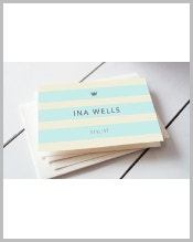 elegant-blue-striped-business-card