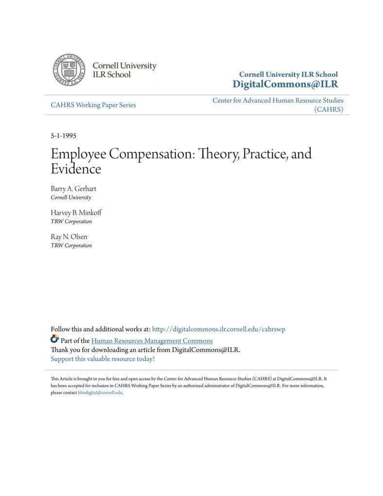 employee compensation guide