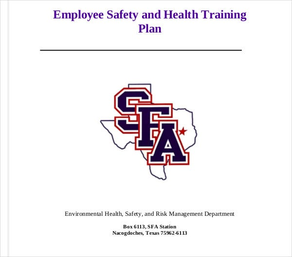 employee safety and health training plan1
