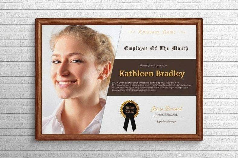 employee of the month certificate 788x524