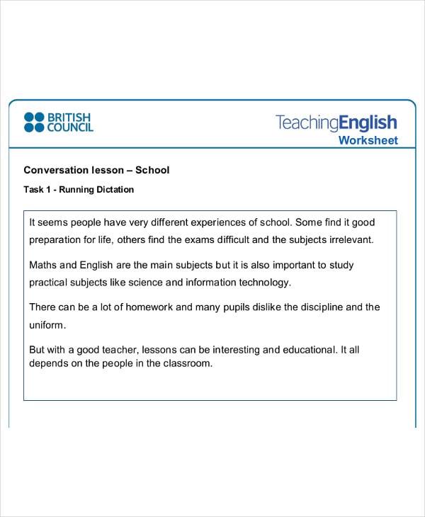 english-class-worksheet