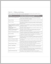 enterprise-business-policy-template