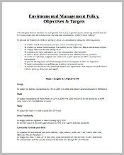 environmental-management-policy-template