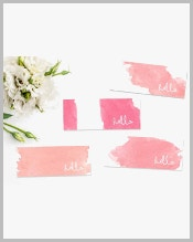 feminine-mini-business-cards-bundle
