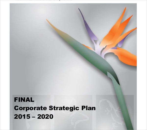 final corporate strategic plan