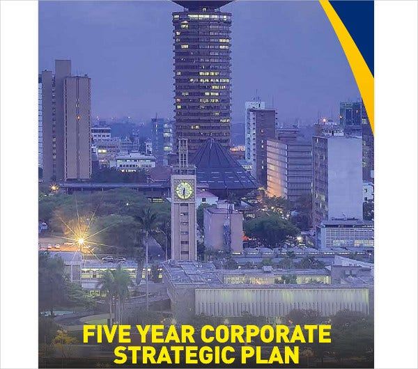 five year corporate strategic plan