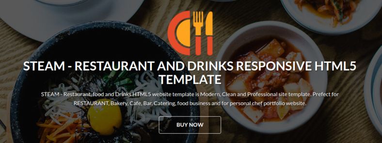 food drinks html5 website template 788x295