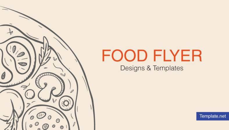 Food Flyer Designs