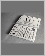 free-typography-business-card