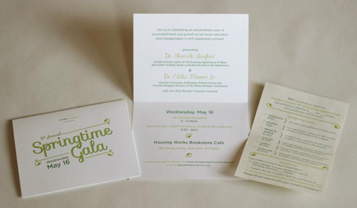 fundraising gala invitation card template