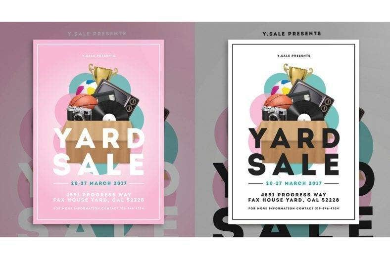garage sale flyer design 788x524