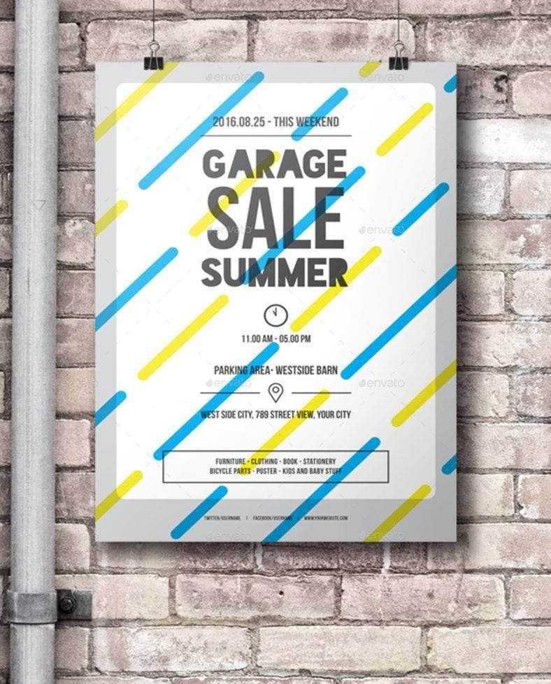 garage sale summer flyer 788x978