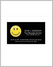 glossy-classic-yellow-happy-face-business-card