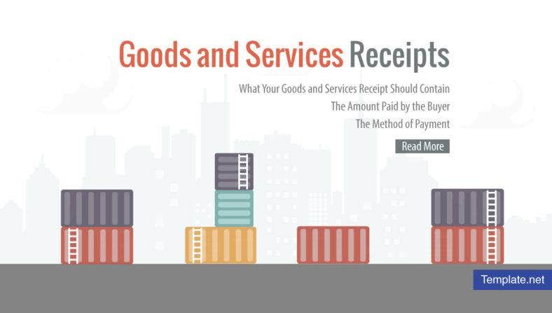Goods and Services Receipt