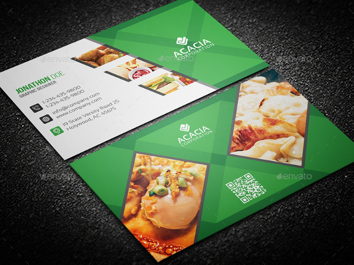 14 Restaurant Name Card Templates Amp Designs Psd Ai