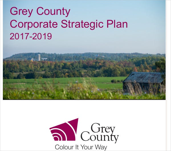 grey county corporate strategic plan