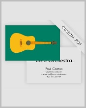 guitar-business-card-template