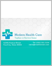 health-care-magnetic-business-card
