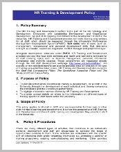 hr-training-and-development-policy-template