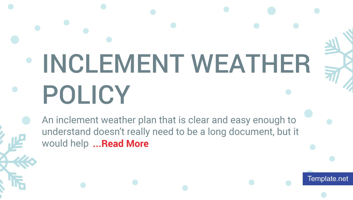 inclementweatherpolicy