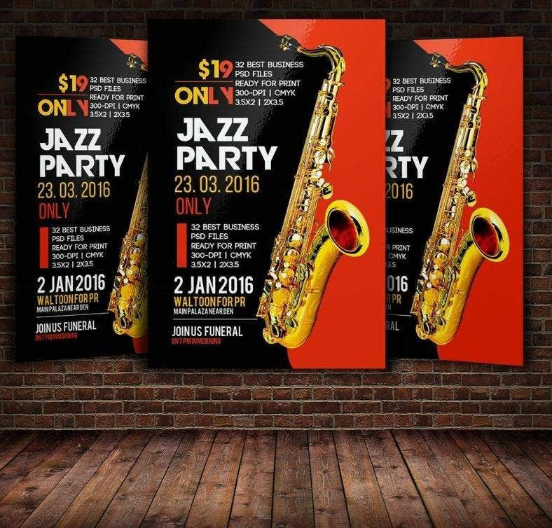 jazz festival flyer poster 788x754