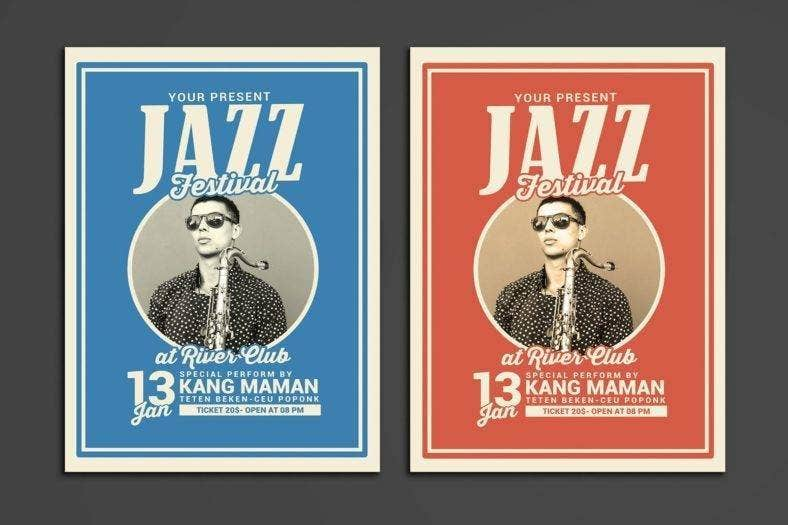 Jazz Music Festival Template