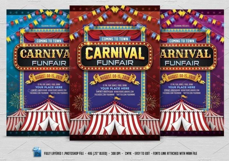 Kids Carnival Flyer