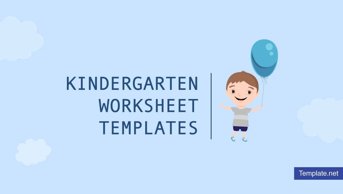 kindergarten worksheet templates