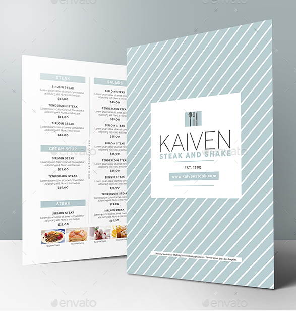 14 modern catering menu designs templates psd ai free