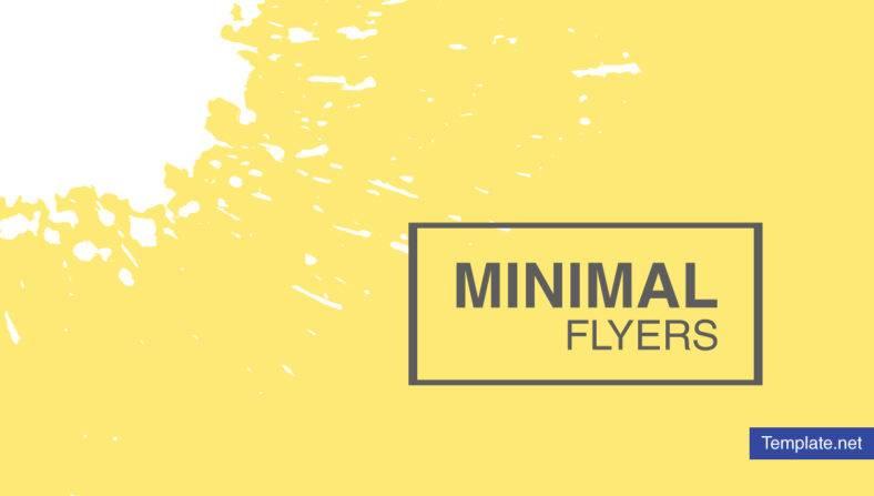 minimal flyer 788x447