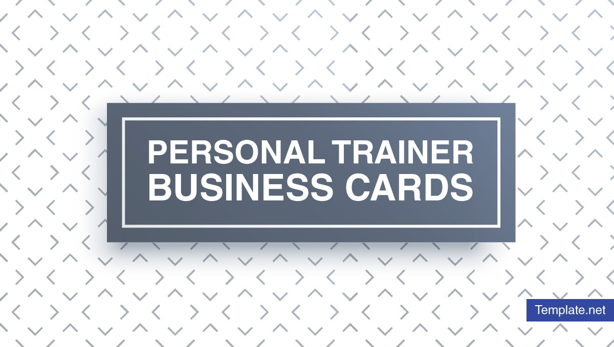 minimal personal trainer business card designs templates