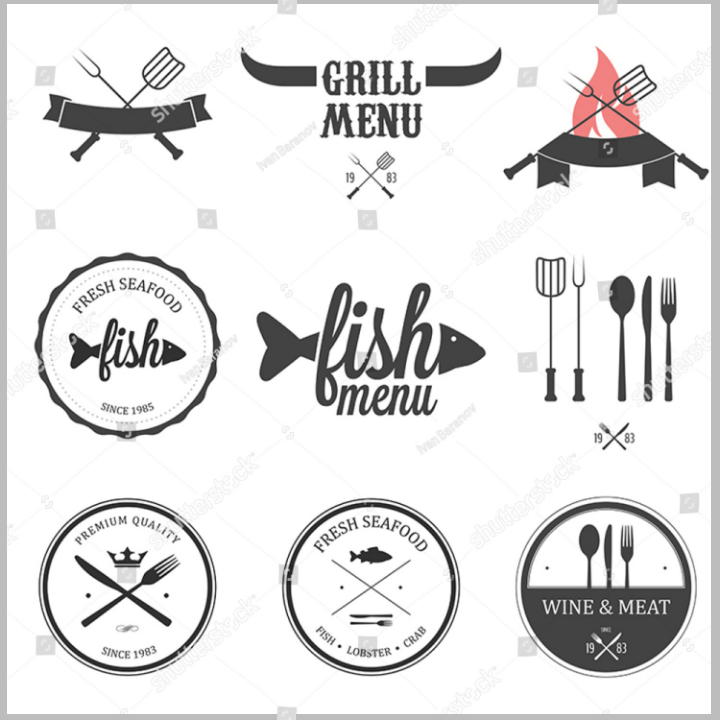 18+ Restaurant Food Label Templates & Designs - PSD, AI | Free