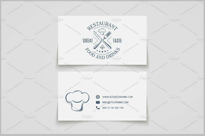 minimalist-restaurant-name-card-template