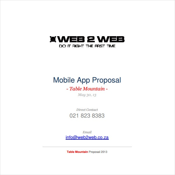 2 How To Write An Application Proposal Pdf Free Premium Templates